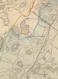 Jamaica Plain Boston Map.Hills Of Jamaica Plain Boston Mass Hills Of The Boston Basin